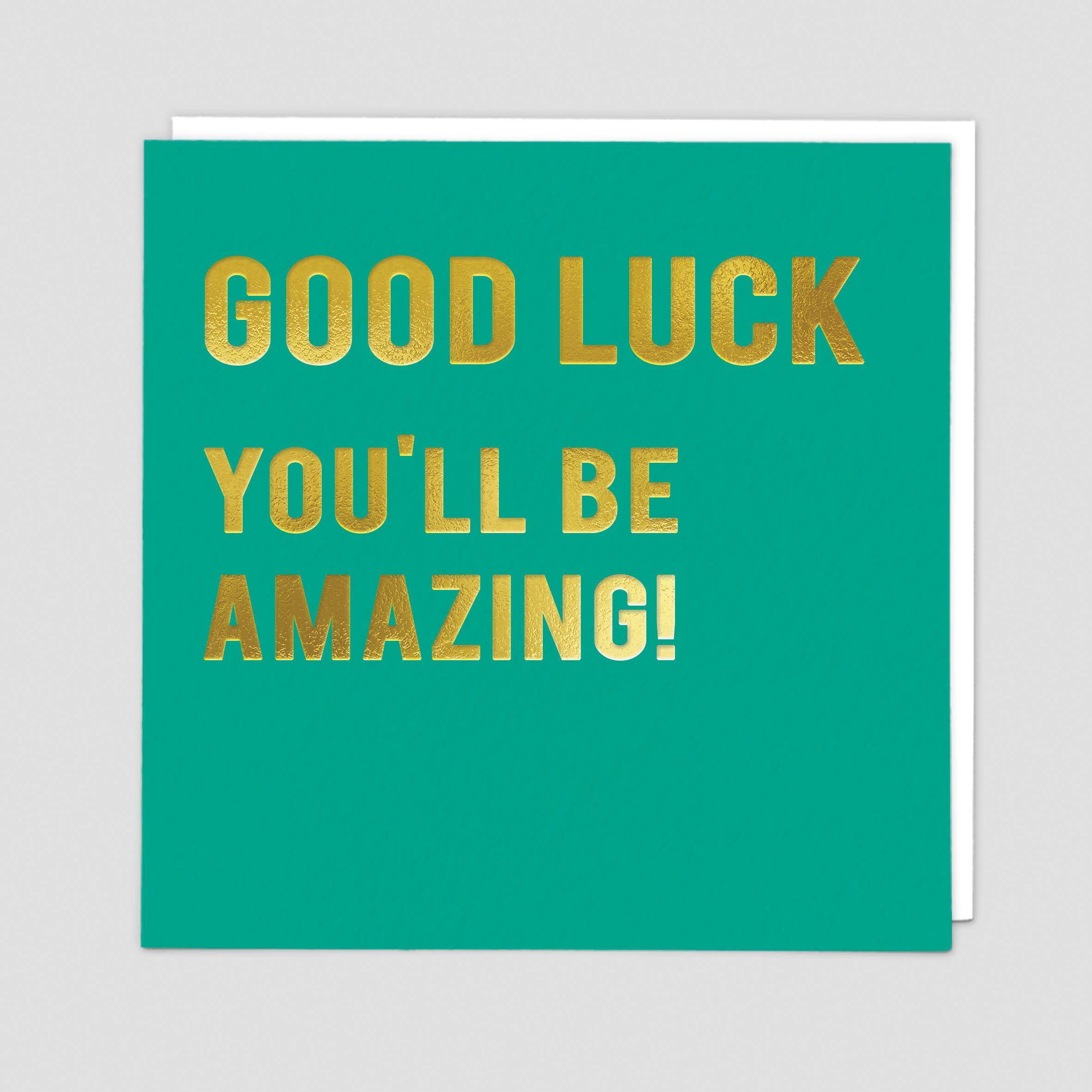 Good Luck Amazing (CLN129)
