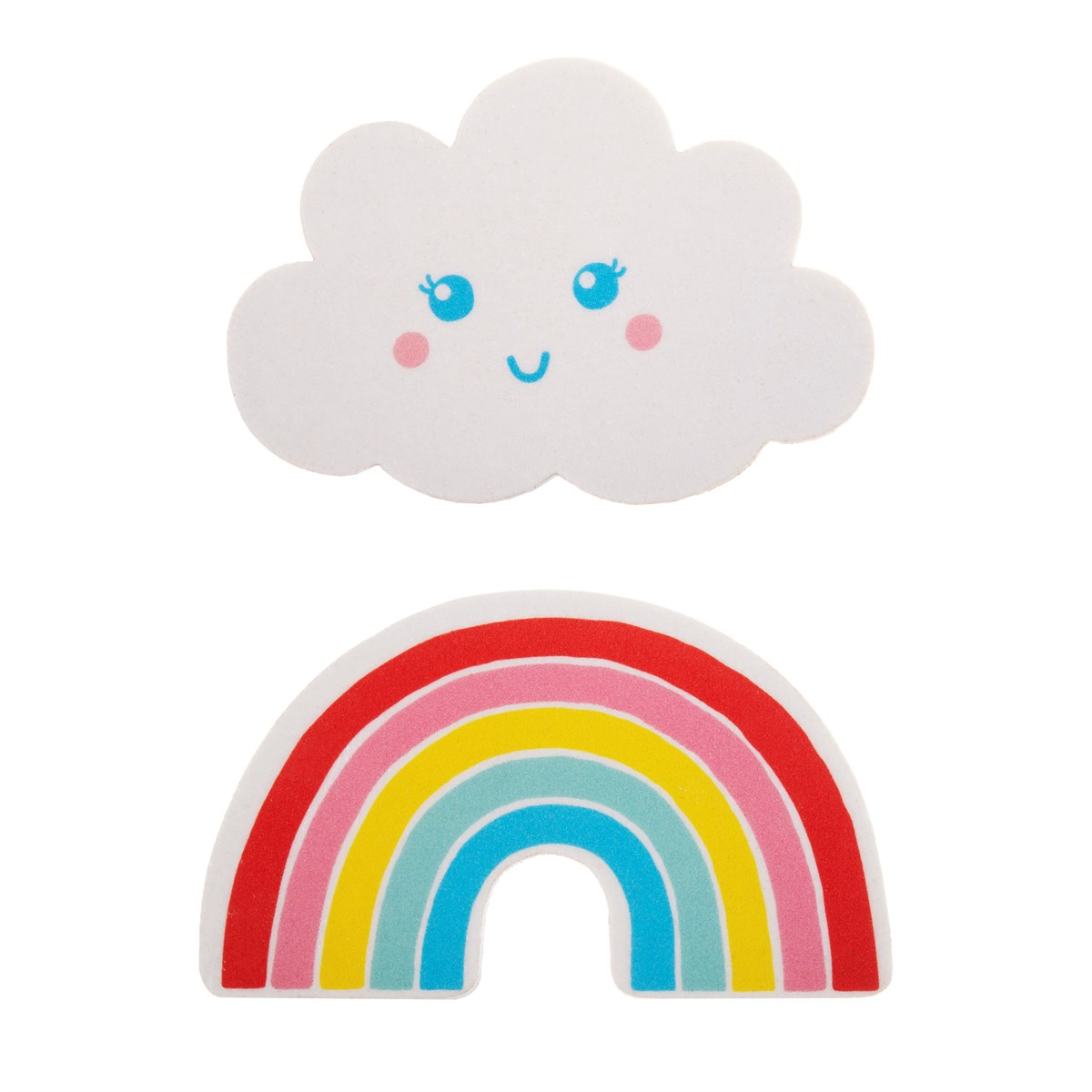 *Sale* Rainbow and Cloud Nail File