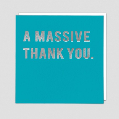 Massive Thank You (CLN42)