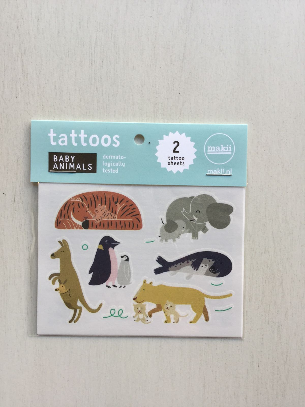 Makii - Tattoos - baby animals