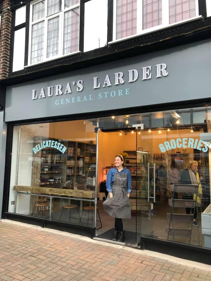LAURA'S LARDER