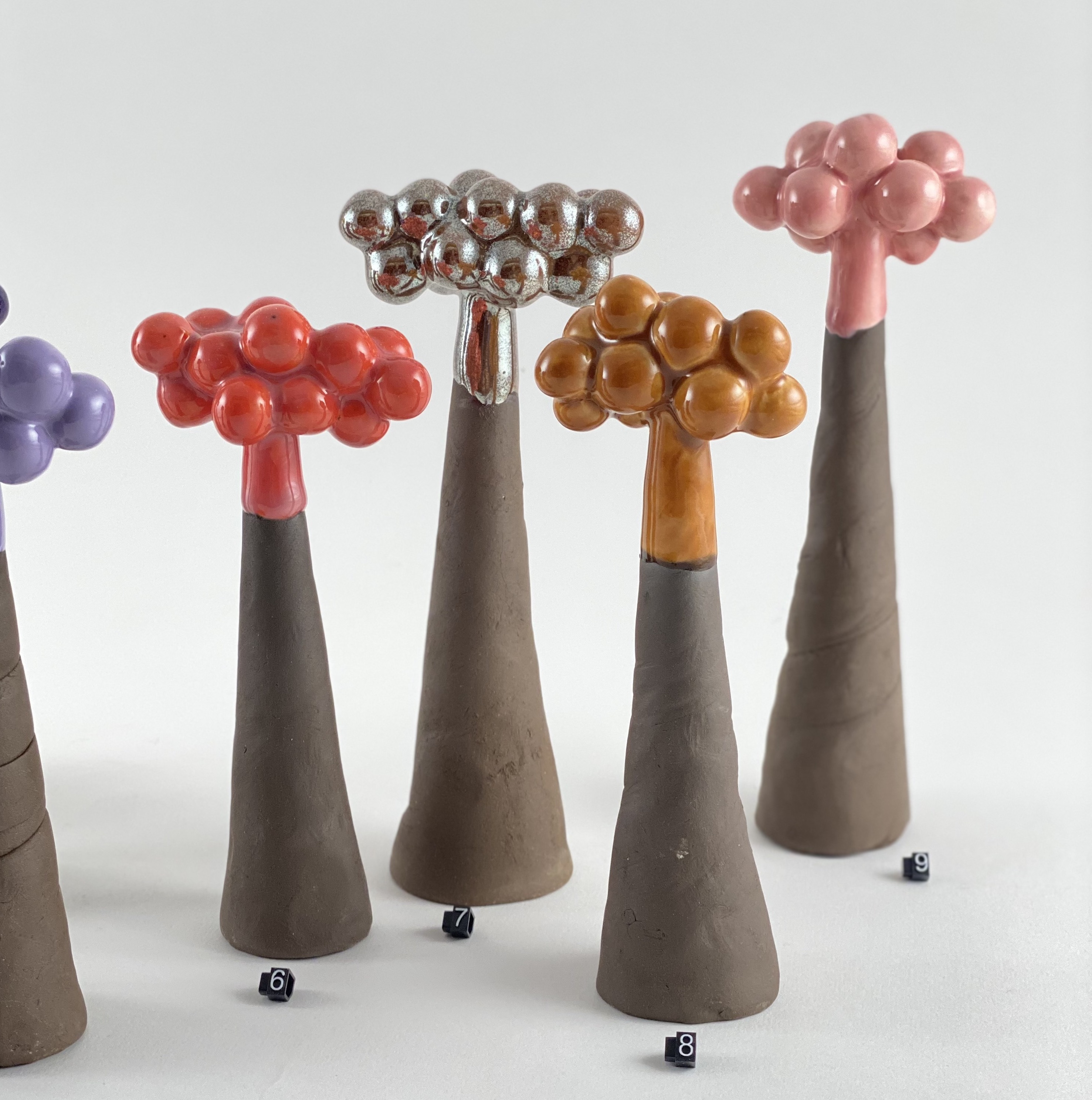 Skov // små træer - nye farver
