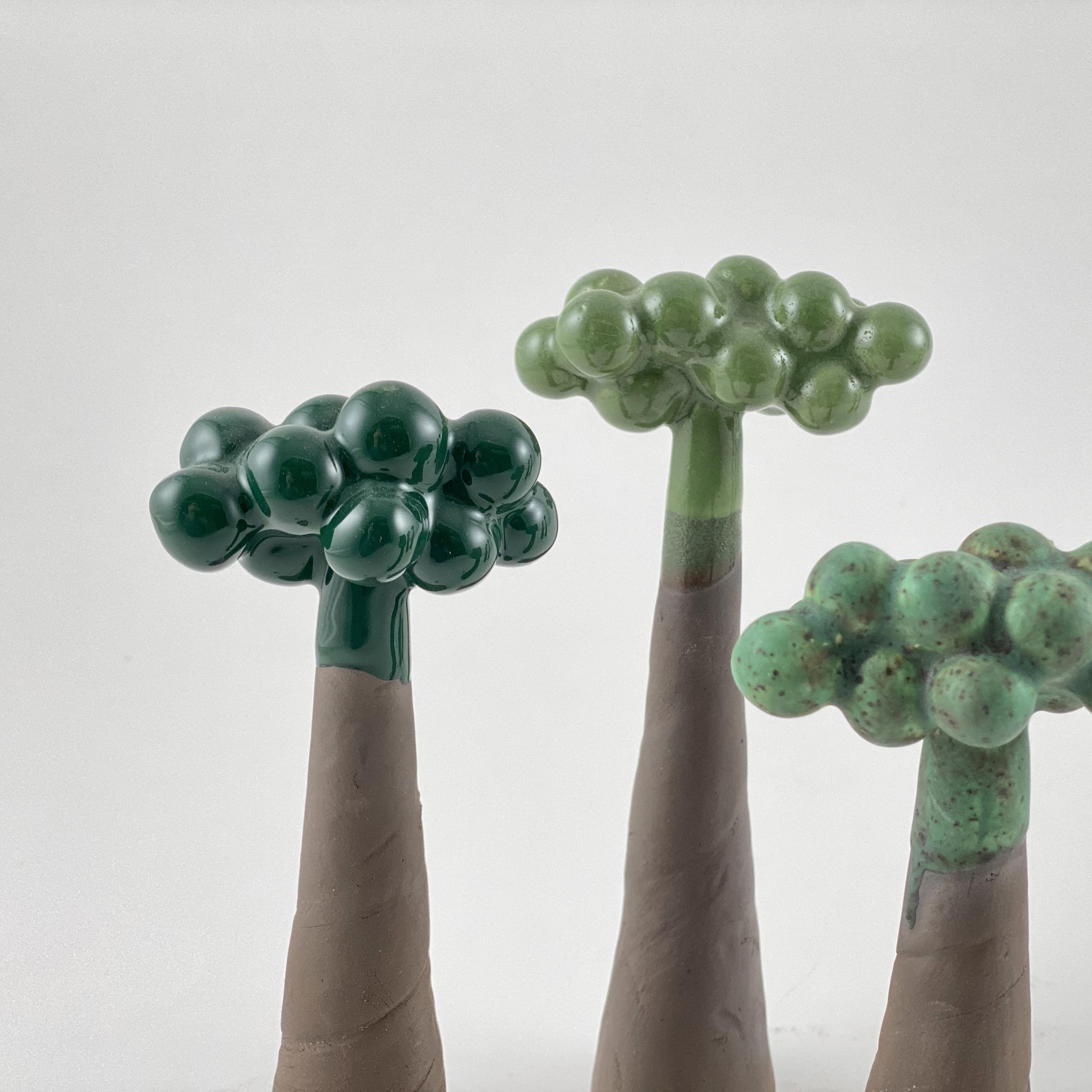 Skov // små træer
