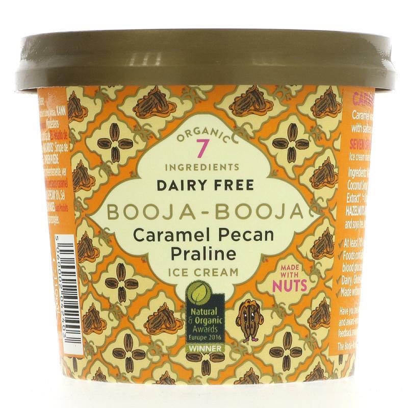Booja Booja - Caramel Pecan Praline Ice Cream (110ml)