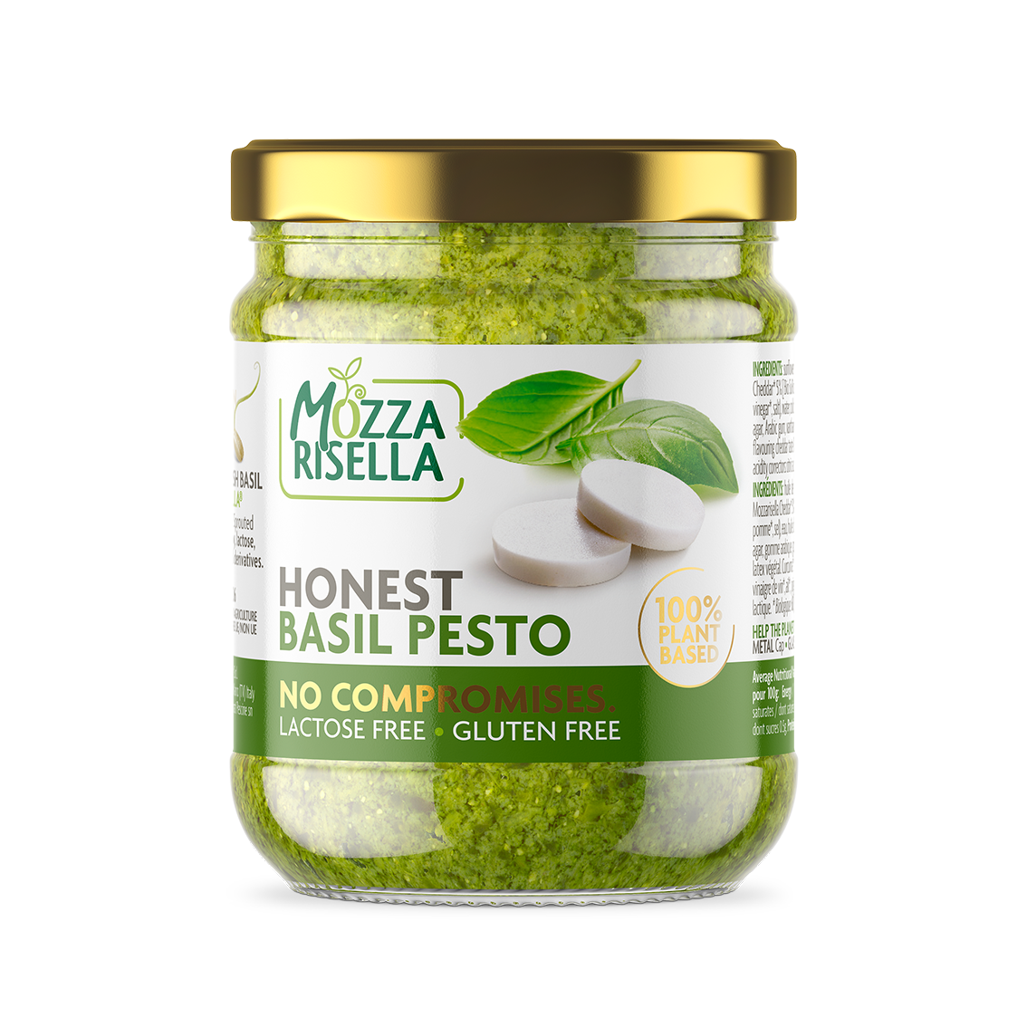 MozzaRisella - Honest Basil Pesto
