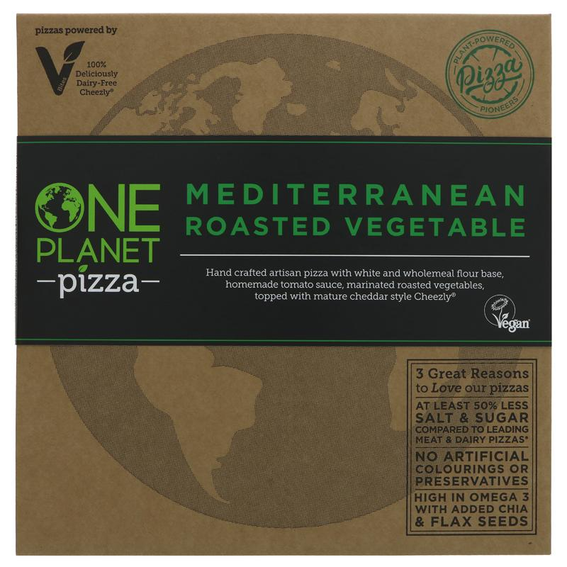 One Planet Pizza - Mediterranean Roasted Vegetable