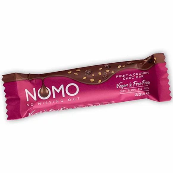 NOMO - Fruit & Crunch Chocolate Bar (38g)