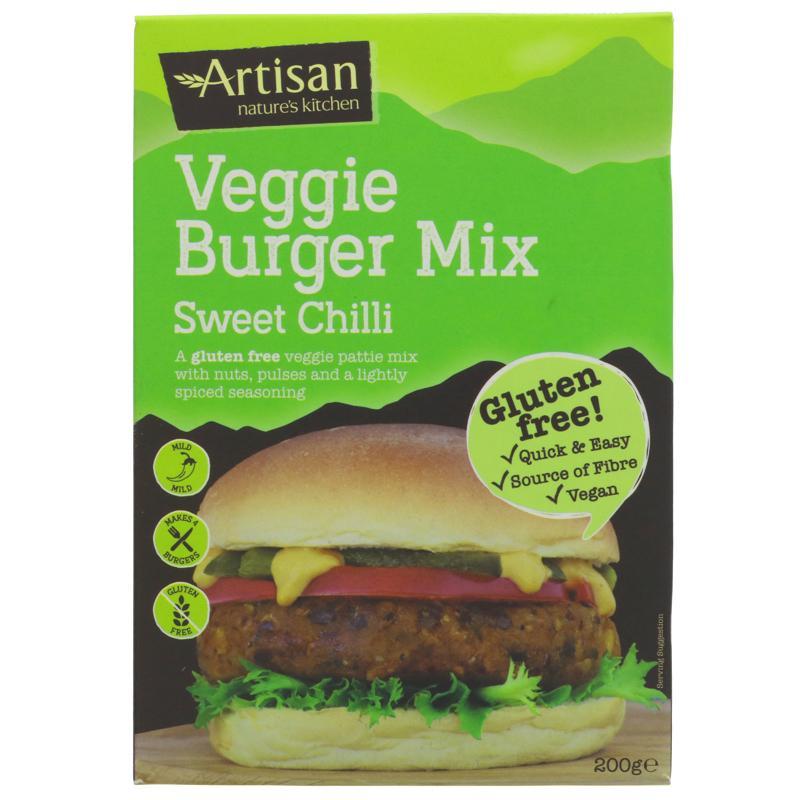 Artisan Nature's Kitchen - Sweet Chilli GF Burger Mix