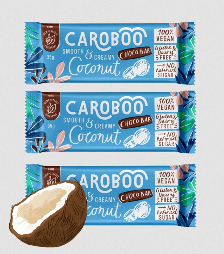 Caroboo - Coconut Choco Bar