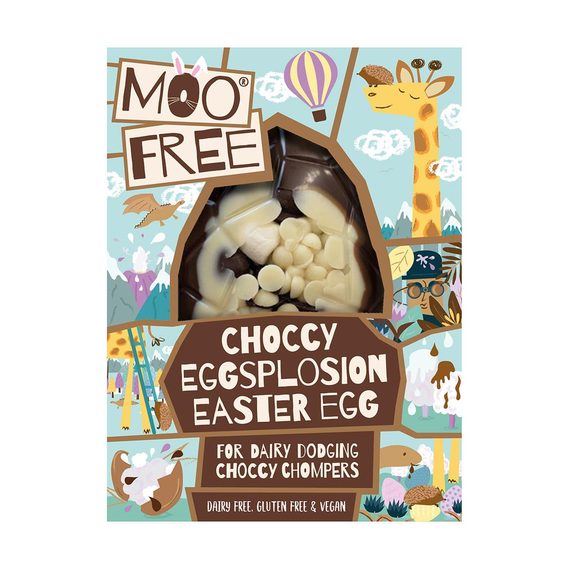 Moo Free - Choccy Eggsplosion Easter Egg