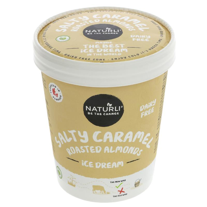 Naturli - Salted Caramel Ice Dream