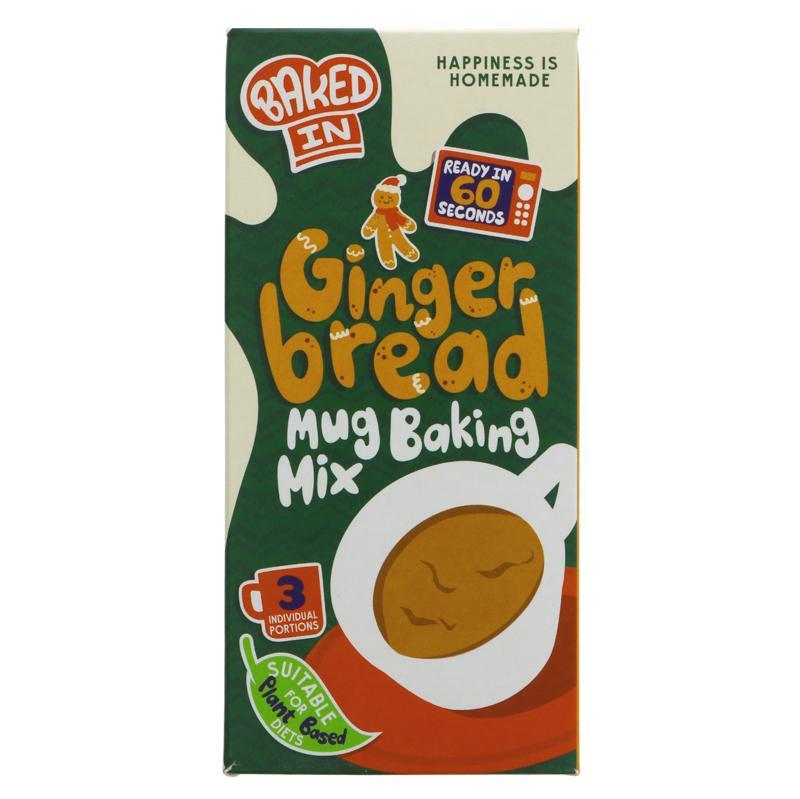 Bakedin - Gingerbread Mug Cake Mix