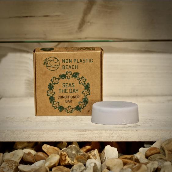 Non Plastic Beach - 'Seas The Day' Conditioner  Bar (50g)