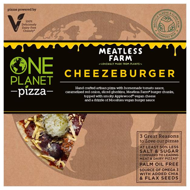 One Planet Pizza - Cheezeburger Pizza