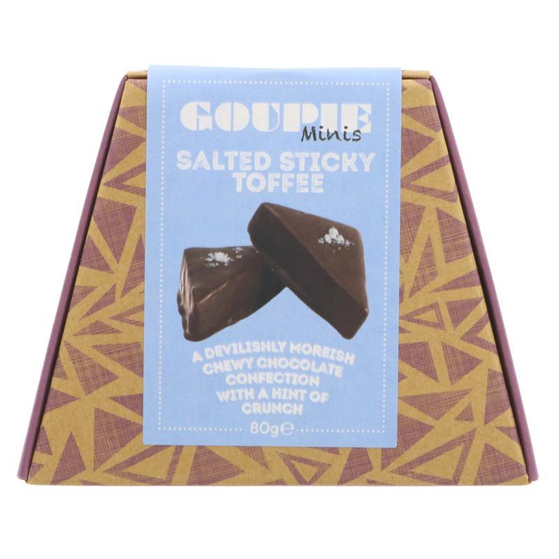 Goupie Minis - Salted Sticky Toffee