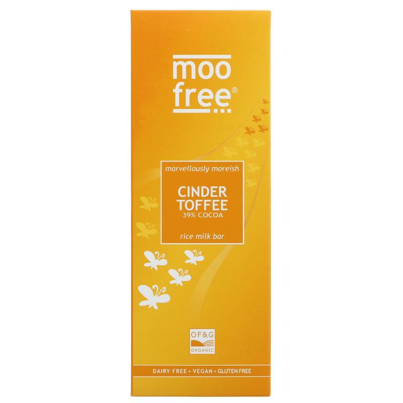 Moo Free - Cinder Toffee Rice Milk Bar