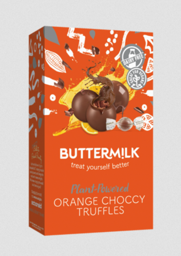 Buttermilk - Orange Choccy Truffles (80g) COMING SOON