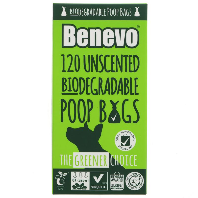 Benevo Biodegradable Poop bags (120 bags)