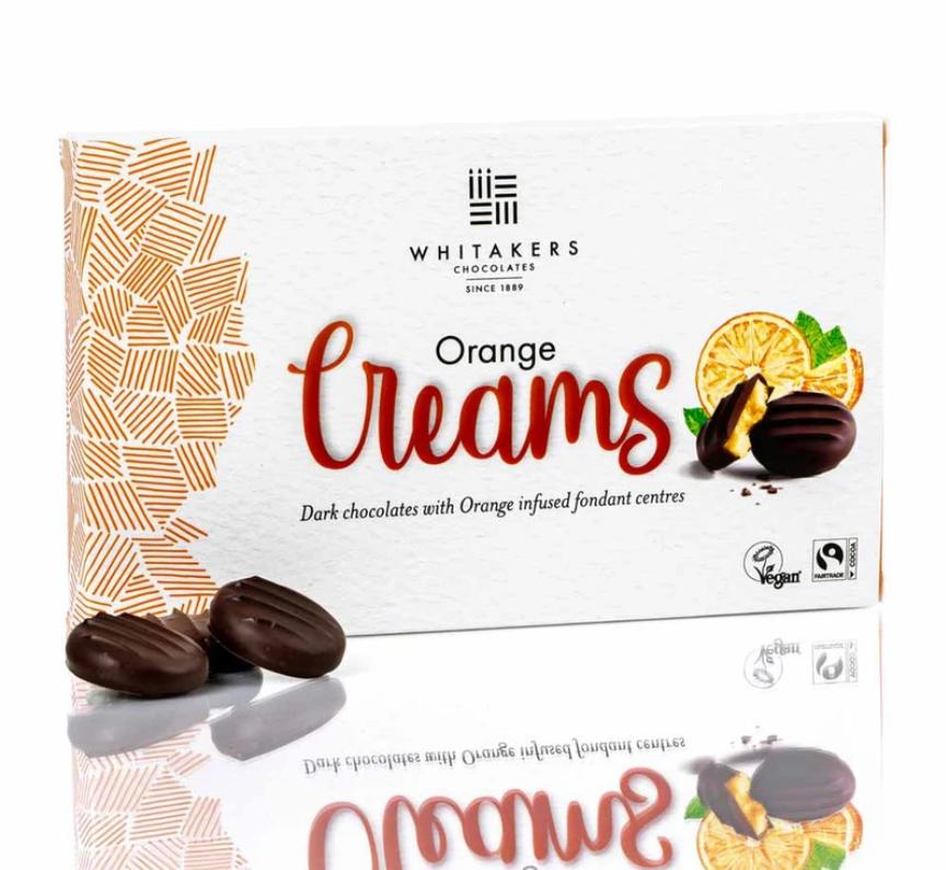 Whitakers Orange Chocolate Creams