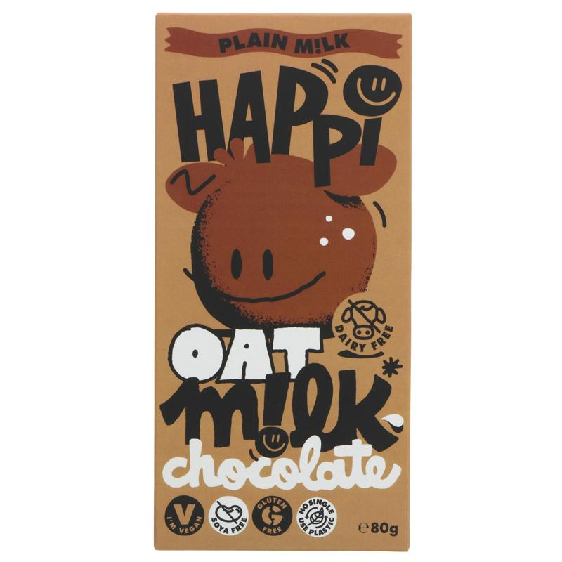 Happi Oat - M!lk Chocolate INTRO PRICE £2.65 (RRP £2.95)