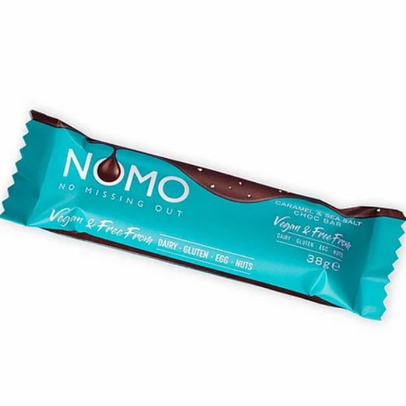 NOMO - Caramel & Sea Salt Chocolate Bar (38g)