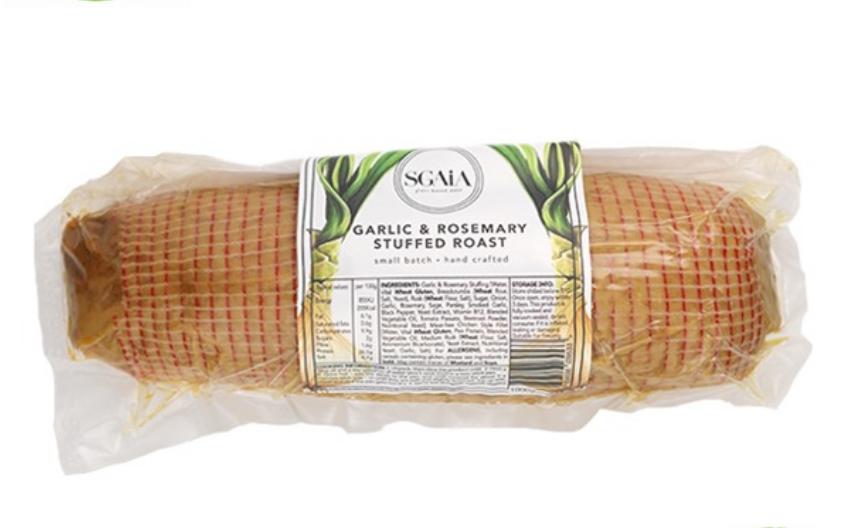Sgaia - Garlic & Rosemary Stuffed Roast (1kg serves 6-8 people)