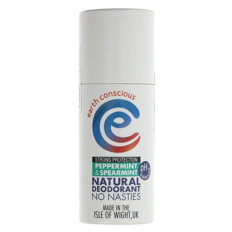 Earth Conscious - Peppermint & Spearmint Deodorant Stick
