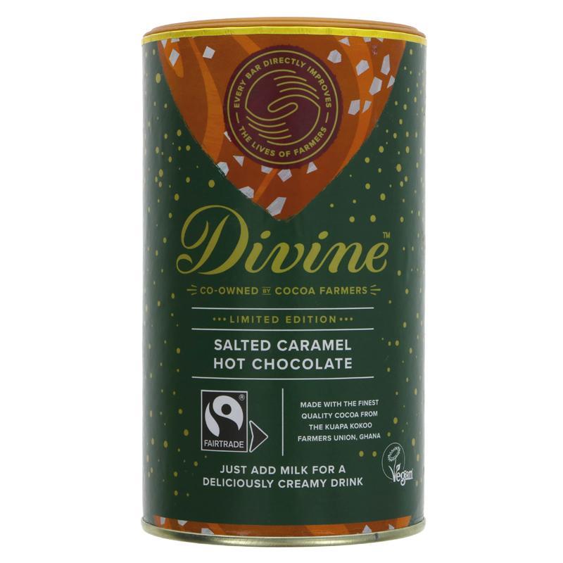 Divine - Salted Caramel Hot Chocolate