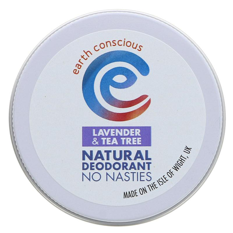 Earth Conscious - Lavender & Tea Tree Deodorant Tin