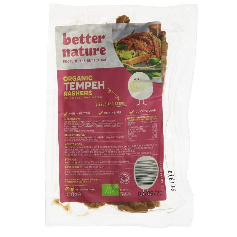Better Nature - Tempeh Rashers