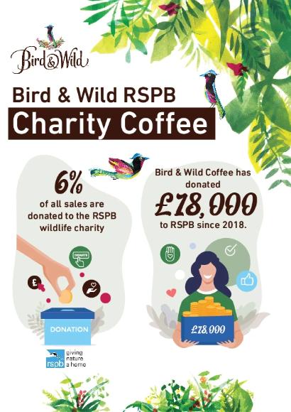 Bird & Wild - Fairtrade Organic Instant Coffee, 100% Arabica, 100g Jar (approx. 50 Servings)