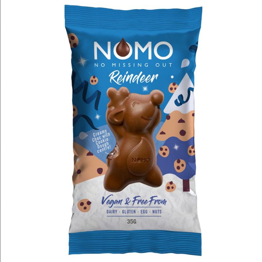 Nomo - Chocolate Cookie Dough Reindeer