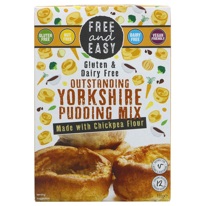 Free & Easy Yorkshire Pudding Mix
