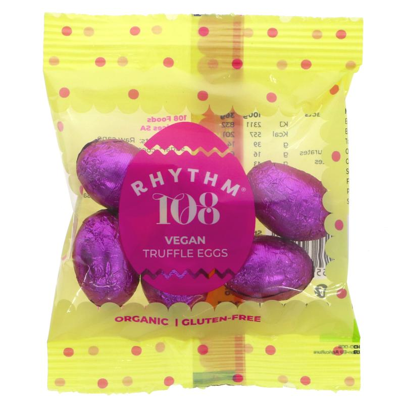Rhythm 108 Swiss Chocolate Truffle Eggs
