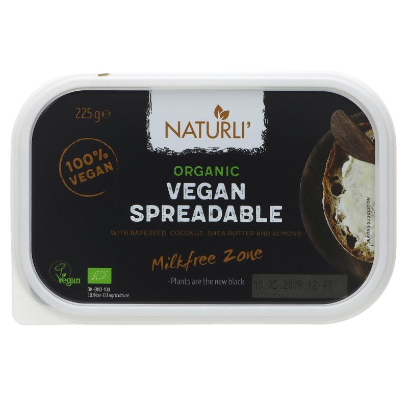 Naturli - Vegan Spreadable 225g
