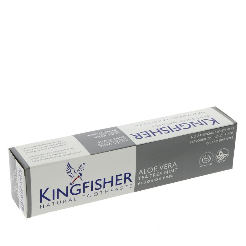 Kingfisher - Aloe Vera Tea Tree Mint Toothpaste without fluoride