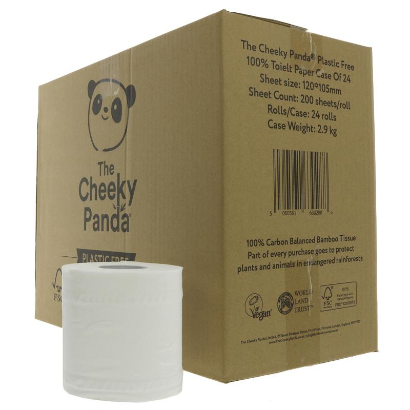 Cheeky Panda Toilet Roll - Single unwrapped