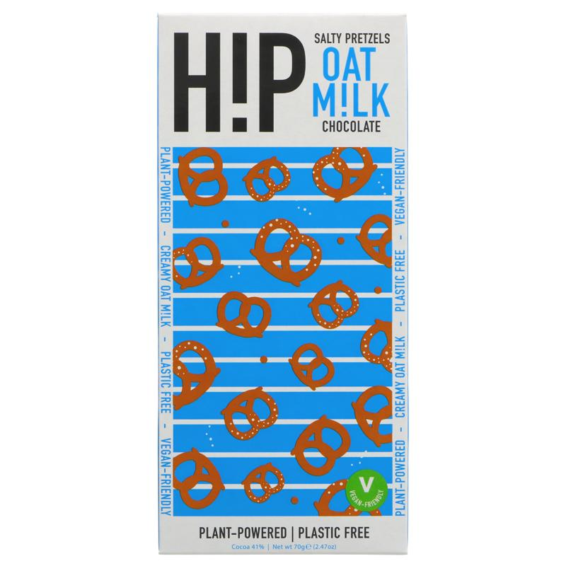 H!P - Happiness In Plants - Salty Pretzels Oat Milk Chocolate