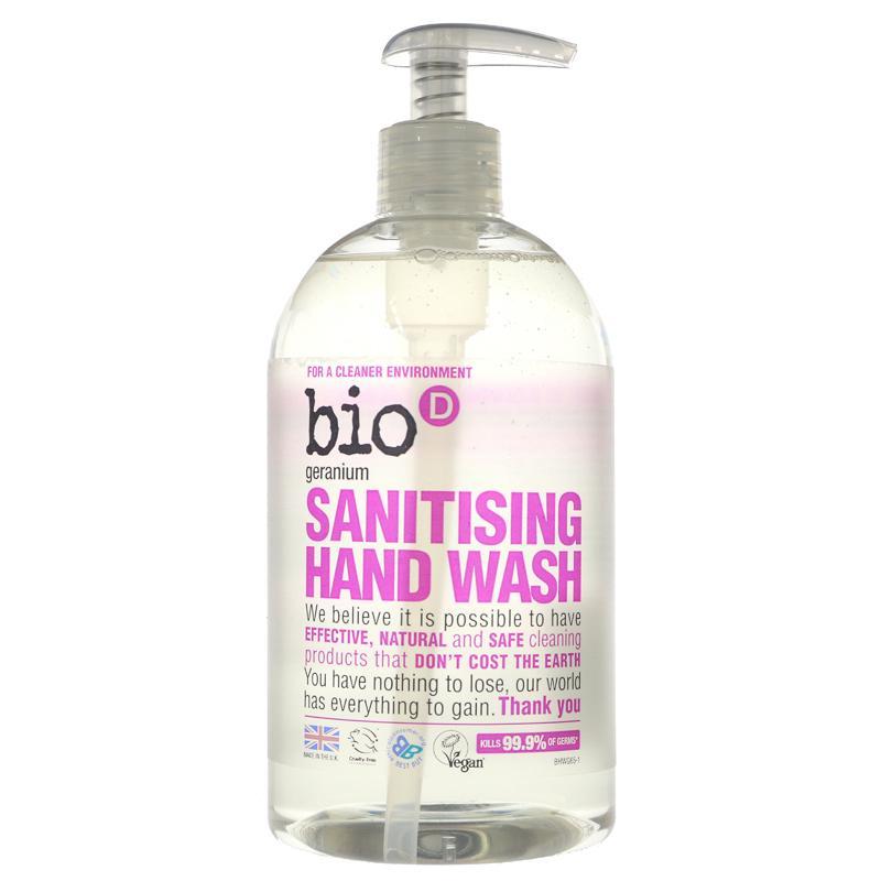 Bio D Sanitising Handwash - Geranium