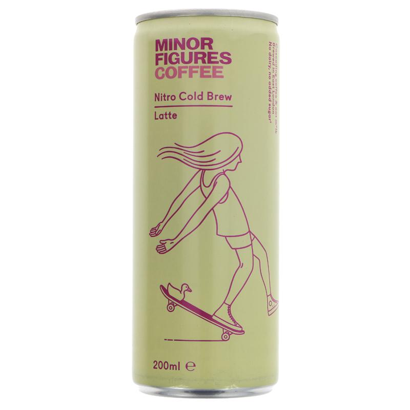 Minor Figures - Nitro Cold Brew Latte
