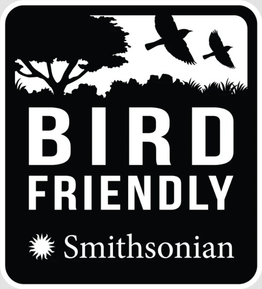 Bird & Wild - Espresso Dark Roast, Fairtrade Organic Shade Grown Bird Friendly Ground Coffee, Strength 4 (200g)