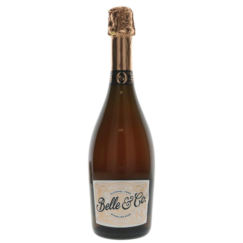 Belle & Co - Alcohol-Free Sparkling Rose