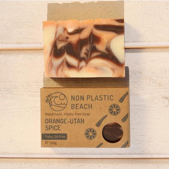 Non Plastic Beach - Handmade Soap 'Orange-utan Spice'