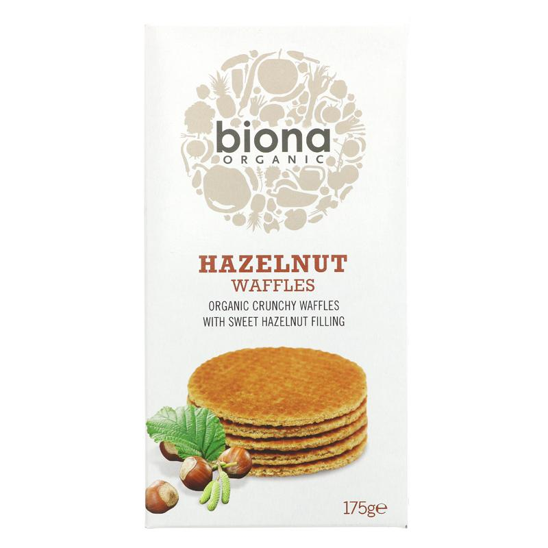 Biona - Hazelnut Syrup Waffles
