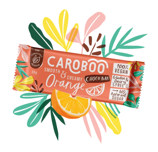 Caroboo - Orange Choco Bar