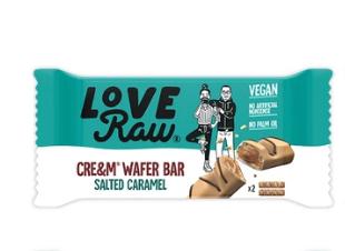 LoveRaw - Salted Caramel Wafer Bars
