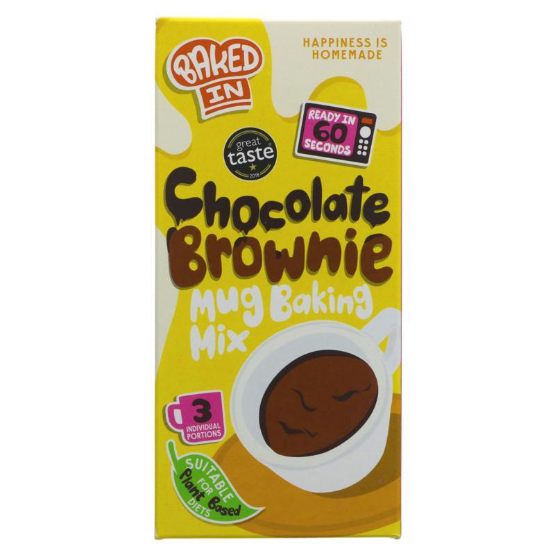 Bakedin - Chocolate Brownie Mug Mix