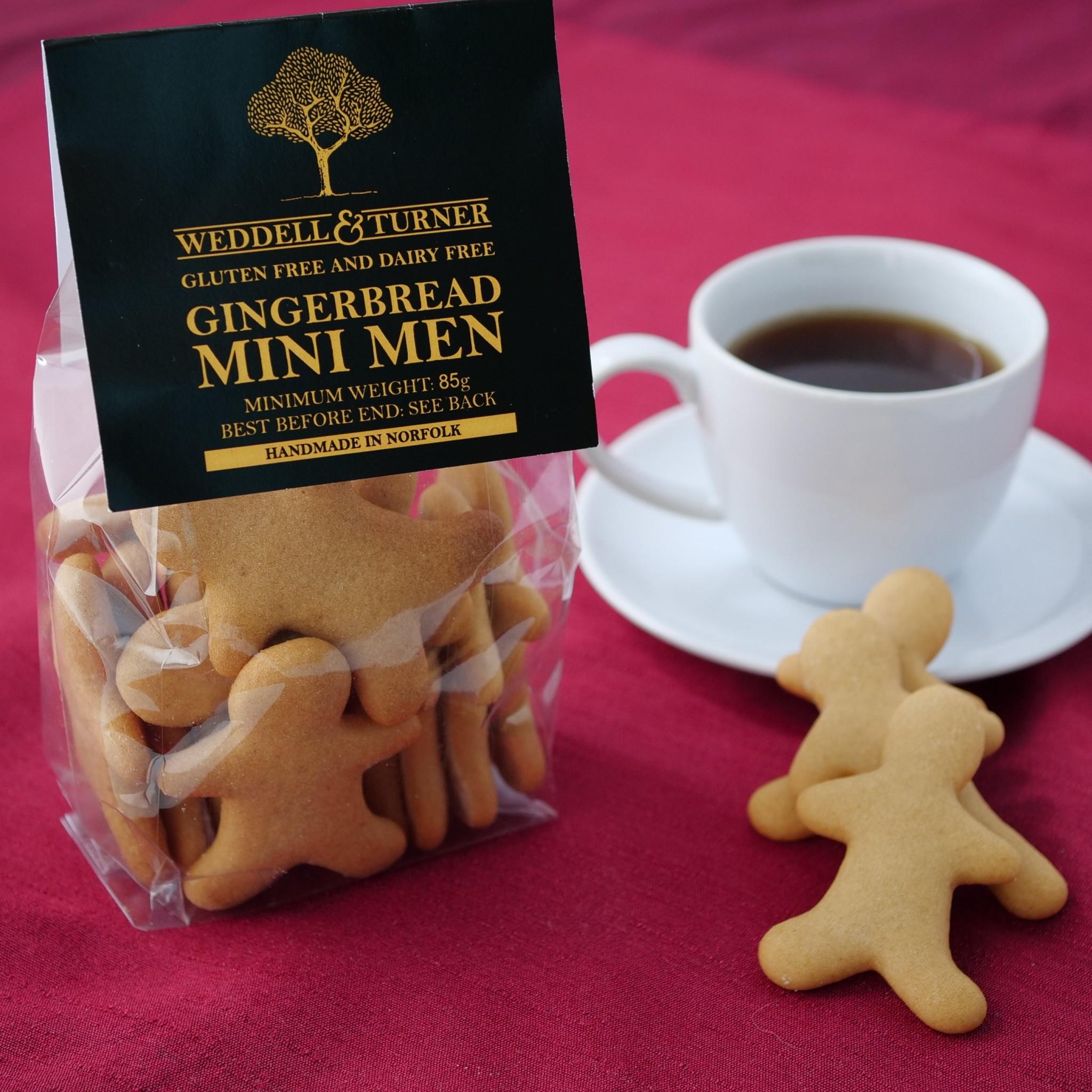 Weddell & Turner - Gingerbread Mini Men