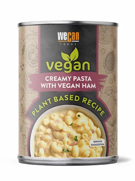 We Can Vegan - Creamy Pasta with Vegan Ham (ON OFFER RRP £2.85)