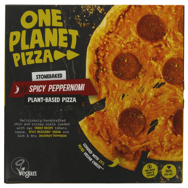 One Planet Pizza -  Spicy Peppernomi